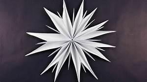 Basteln Aus Papier : stern aus kopierpapier basteln deko ideen mit flora shop youtube ~ A.2002-acura-tl-radio.info Haus und Dekorationen