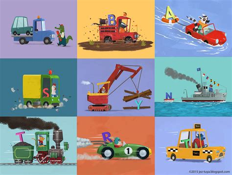 picture book my own trucks on behance
