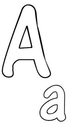 Marion schröder meine kreative welt deko buchstaben zb für ostern. Alphabet zum ausmalen oder kneten. Kostenloser Ausdruck ...