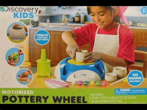 Discovery Kids Motorized Pottery Wheel Youtube