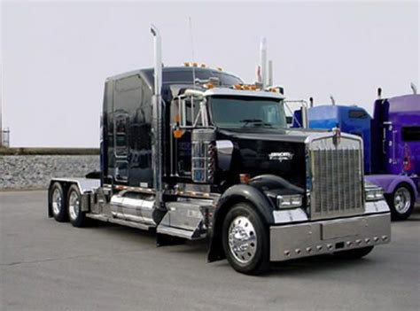 w900 kenworth truck a kenworth w900 with sleeper cab one of these with a