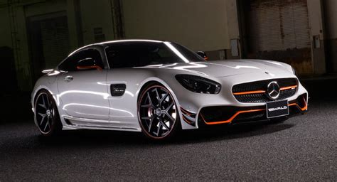 Mercedes Amg Gt Modification by 100 Cars 187 Wald