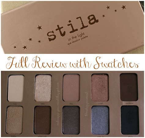 stila in the light palette makeup your mind stila in the light palette review