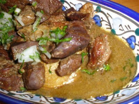 recettes de cuisine tunisienne qleya tunisienne agneau au curcuma