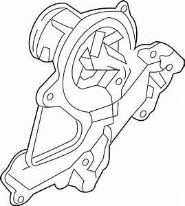 2015 Hyundai Genesis Coupe Engine Water Pump  Water Pump