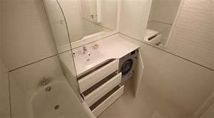 meuble de salle de bain avec lave linge atlantic bain With lave linge sous vasque salle de bain