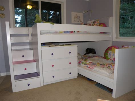ikea beds for toddlers ikea hackers malm toddler bed under malminspired bunk home interior design ideashome