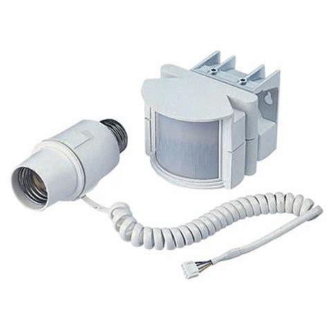 motion sensor light home depot heath zenith heath zenith par light motion sensor adapter
