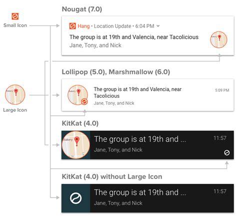 android notification icons onesignal push notification service documentation