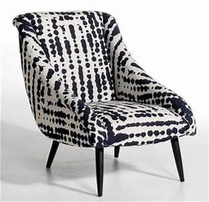 Petit Fauteuil Pas Cher : incroyable meuble a peindre pas cher 12 petit fauteuil imprime retro noir et blanc uteyo ~ Preciouscoupons.com Idées de Décoration
