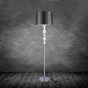 Stehlampe Schirm : elegant stehleuchte stehlampe lampe wohnzimmerlampe ~ Pilothousefishingboats.com Haus und Dekorationen
