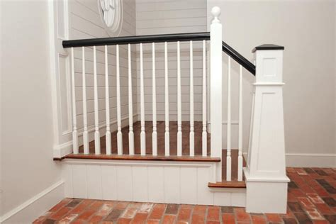 building  tapered craftsman style newel post jlc