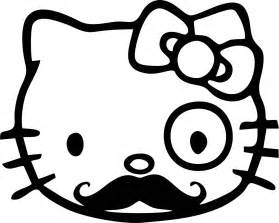 HD wallpapers coloring pages hello kitty nerd