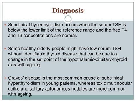 free t4 serum normal range sub clinical thyroid dysfunction