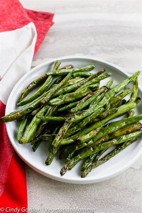fryer beans air recipes bean vegetarianmamma delicious quick easy fried recipe vegetarian side