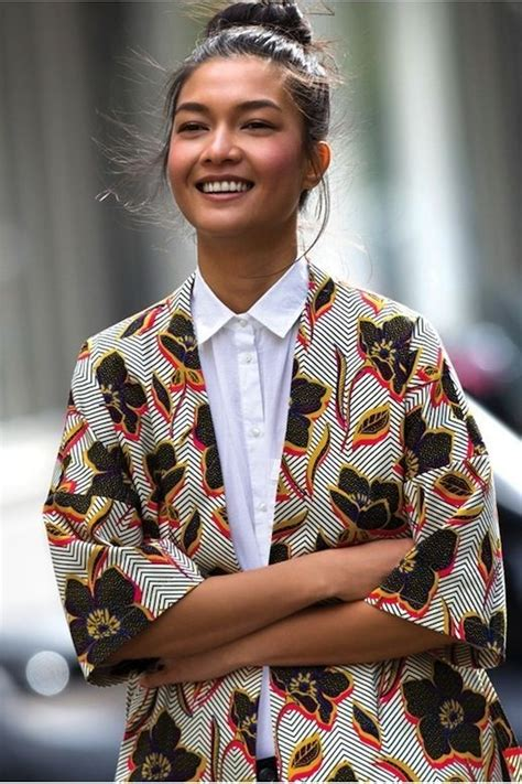 Itu0026#39;s a Thing The Kimono Jacket   African Prints in Fashion