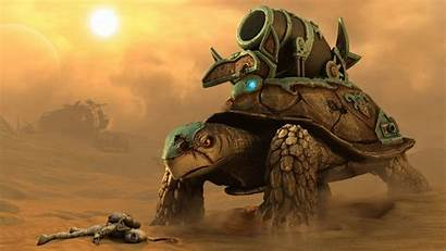 Turtle Fantasy Tank Turtles Battle Creatures War