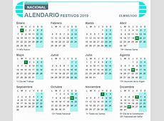 Calendario laboral de 2019 festivos y puentes Economía