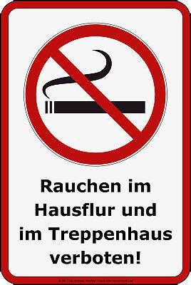 Rauchen Im Treppenhaus by 20x Rauchverbot Aufkleber Rauchen Verboten