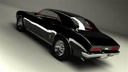 Firebird Pontiac 1968 3d Max Background Wallpapers