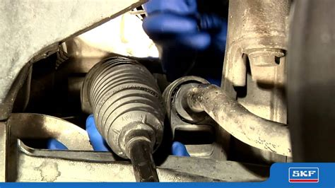 skf specific steering boot replacement youtube