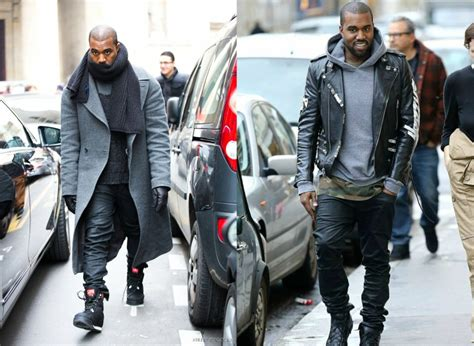 white levi jean jacket how to dress like kanye the idle