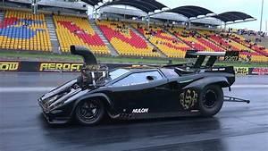 Lamborghini Supercharged V8 Drag Car Licence Testing At