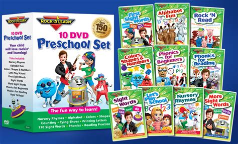 rock n learn preschool dvd set groupon deal amp giveaway 109 | Groupon Main