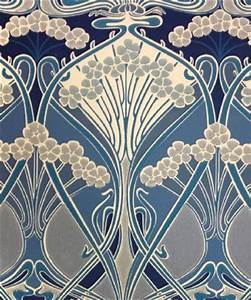 Papier Peint Art Nouveau : 628 best art deco images on pinterest patterns textile ~ Dailycaller-alerts.com Idées de Décoration