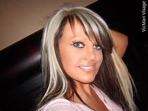 Platinum Blonde On Top Dark Brown On The Bottom Hair