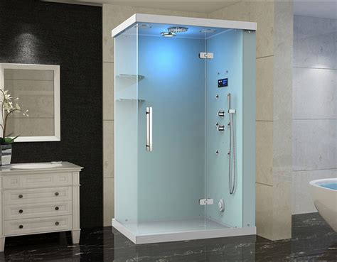 Shower Bath With Jets by Windemere Frameless Glass Rectangular Steam Shower With 6