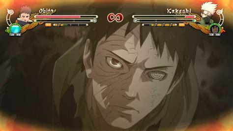 Naruto Shippuden Ultimate Ninja Storm 3 Full Burst Pc Mods Uchiha Obito Unmasked Vs Kakashi