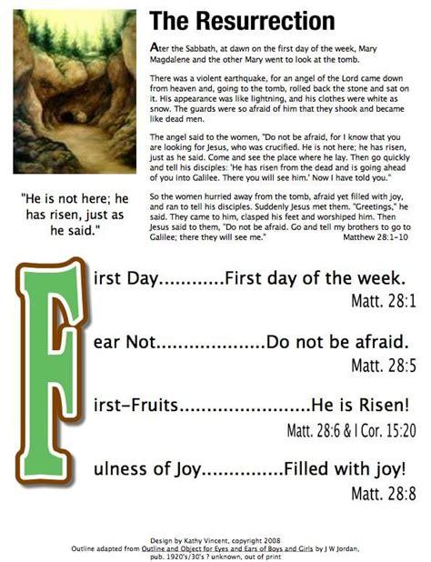 bible acrostics  bible lesson outlines