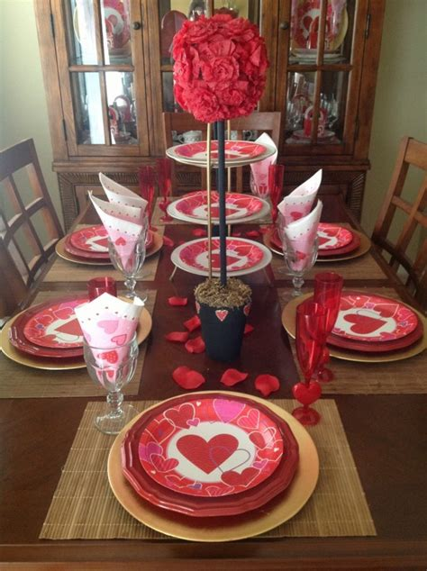 romantic red valentine decorations godfather style