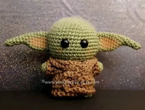 This Mandalorian Baby Yoda Inspired Plush Doll is ADORABLE ...