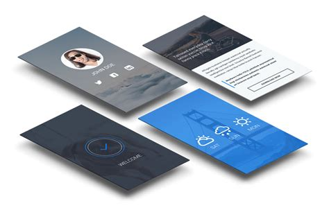 business card design app business card mobile app image collections card design
