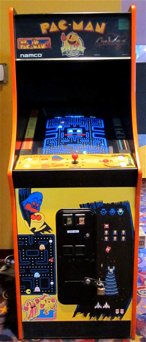 pac man arcade cabinet my local movie theater of all places has a pac man
