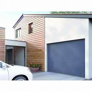 Hauteur Porte De Garage : porte de garage enroulement lames aluminium de 77 mm ~ Melissatoandfro.com Idées de Décoration