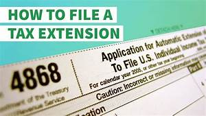 How to File a Tax Extension With the IRS | GOBankingRates
