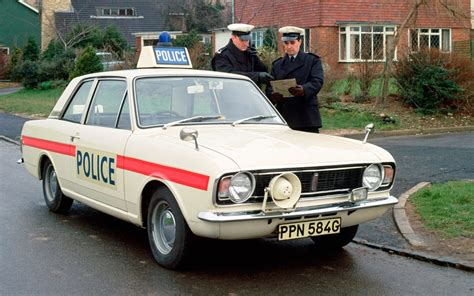 Ford Lotus Cortina Mk-2 Police Car