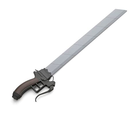 attack on titan roleplay sword thinkgeek