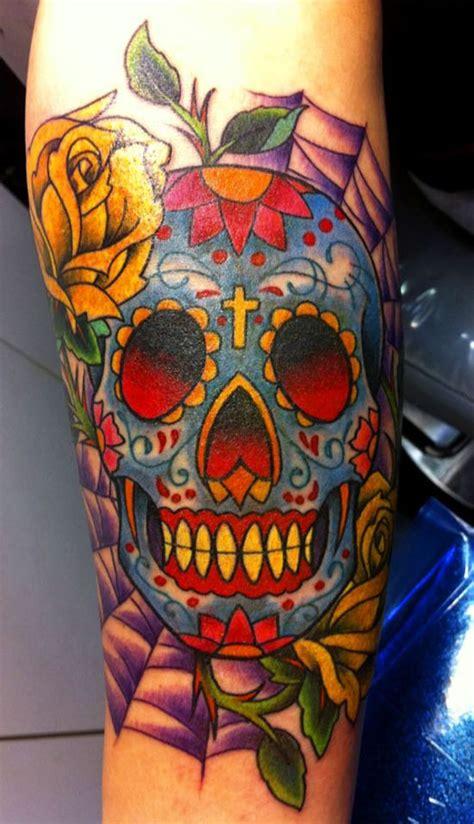 ultimate sugar skull tattoos amazing tattoo ideas