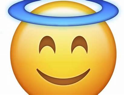 Emoji Angel Transparent Halo Clipart Whatsapp Drawings