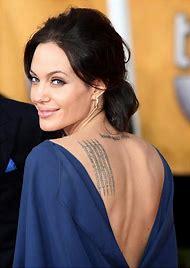 Celebrity Tattoos Angelina Jolie