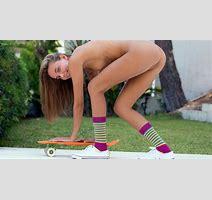 Download Photo X Katya Clover Clover Mango Caramel Auburn Outdoors Naked