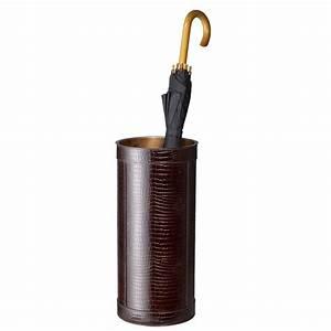 Buy Linley Metropolitan Umbrella Stand - Brown Amara