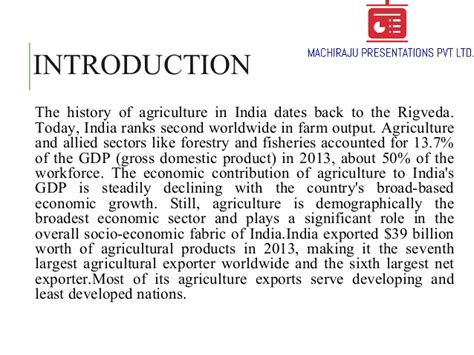 indian agricultureoverview typesmajor crops changing