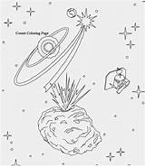 Pages Coloring Space Solar System Planets Comets Colouring Sheets Getdrawings Getcolorings Printable sketch template