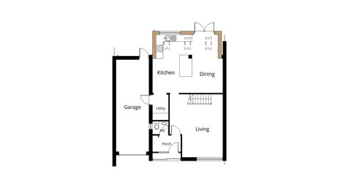 kitchen extension floor plans kitchen extension drawings 4746