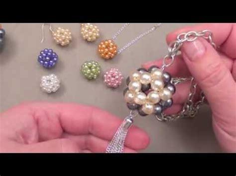 fabriquer des bijoux boules en perles youtube